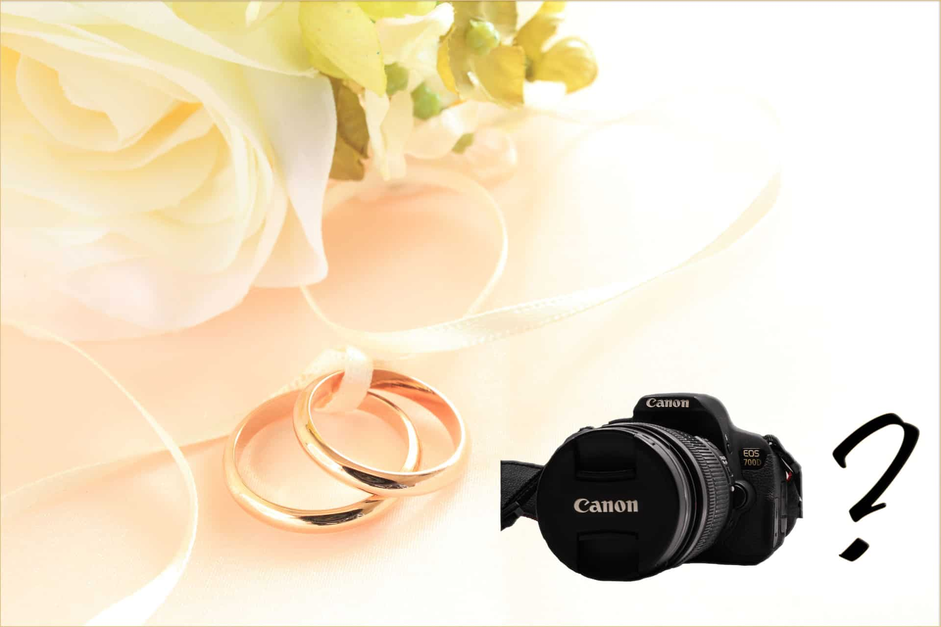 Can You Shoot a Wedding with a Canon Rebel?