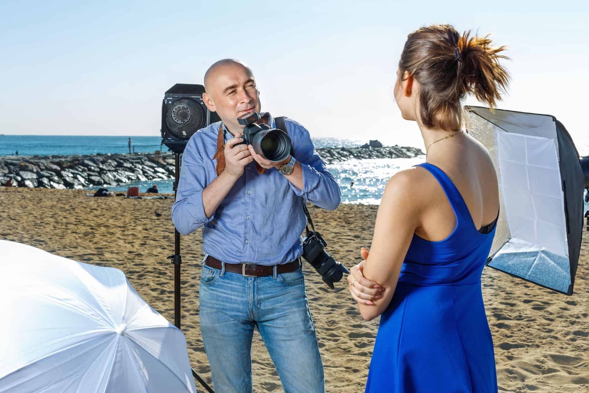 Can You Use a Softbox Outside?