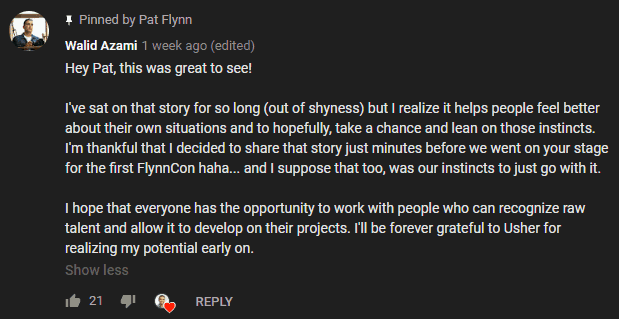 Walid Azami's Comment on Pat Flynn's Video on Start in Photography