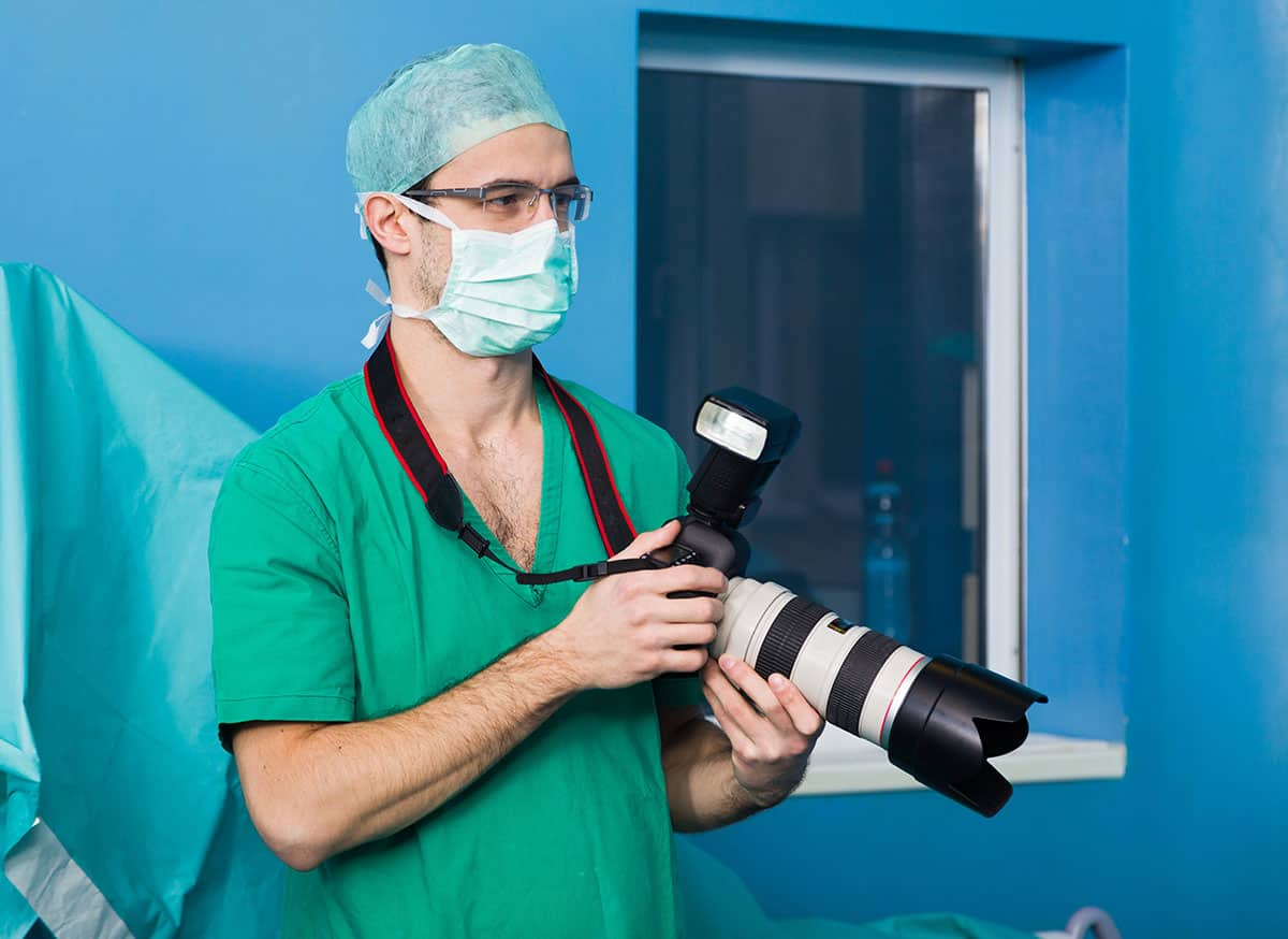 Where Can a Biomedical Photographer Work