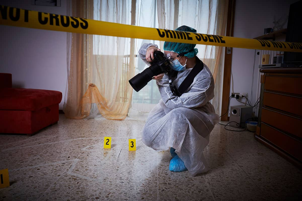 Where Can a Crime Scene Photographer Work